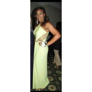 selling my old prom dress! worn once & dry cleaned